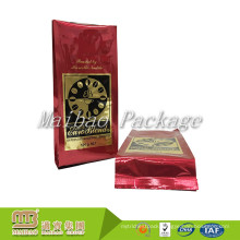 Wholesale Custom Glossy Logo Printing 500g Packaging High Quality Aluminum Foil Side Gusset Coffee Bag