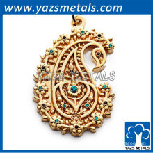 Casting charm zinc alloy badges
