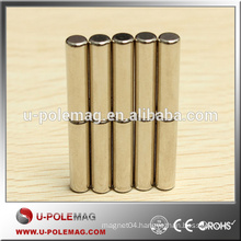Lowest Price Hot Sale N42 Strong Powerful Cylinder Neodymium Magnets