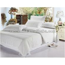 Colores del estilo de la manera diversos disponibles venta al por mayor cama del hotel de guangzhou fijada