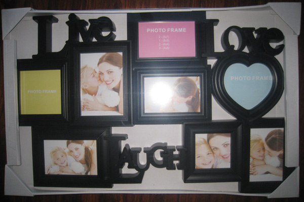 8 opening black family collage frame live love laugh
