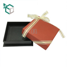 2017 изготовленный на заказ Логос напечатал бумажные коробки хранения ювелирных изделий коробки браслета коробки с лентой