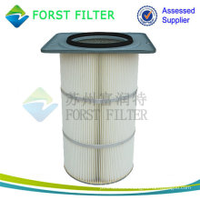 Square Flange Air Filter Cartridge