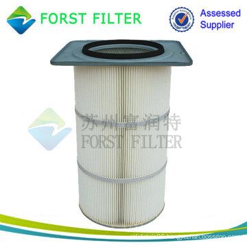 Square Flange Air Filter Cartridge