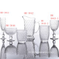Klassieke Honeycomb Series Glass Cup Sets