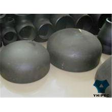 Tapón de montaje de tubería de soldadura a tope de acero al carbono con CE