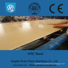 máquina del tablero del wpc, máquina de la fabricación del tablero del wpc, línea de la protuberancia del tablero del wpc