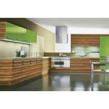 Glossy Customized Wood Design Kitchen Cabinets (ZH-3946)