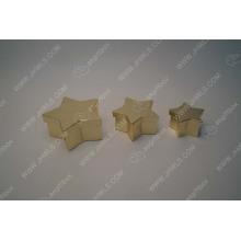 Gold hot stamping Pentagram gift box