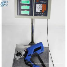 Herramienta que prensa de la batería hidráulica manual zyo-400 del proveedor de China