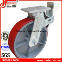 Roulette d'échafaudage PU de 12 pouces avec chargement lourd