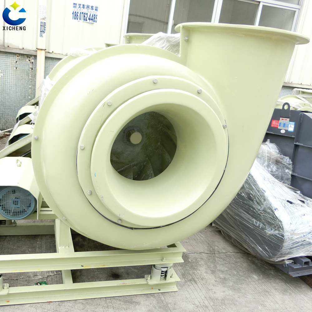 Pp anti-corrosion centrifugal fan