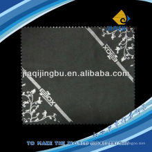 Tissu de nettoyage de lentilles micro-fines de haute qualité avec logo print