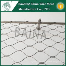stainless steel wire rope mesh net/security screen mesh/bird netting for sale