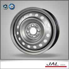 Popular diseño de encargo 6x15 ruedas de acero rueda de cromo