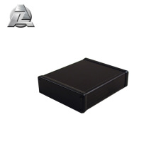 black anodized electronic aluminum box case