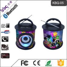 Bluetooth-Musik-Lautsprecher professionelle Audiogeräte Mit 9 bunten Farbdesigns