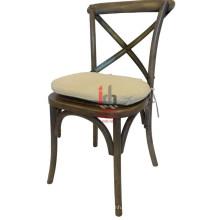Cadeira de jantar almofadada