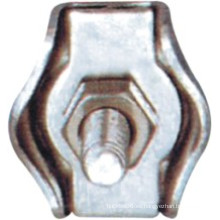 Clips de cuerda de alambre de metal Simplex Serie para cuerda de amarre