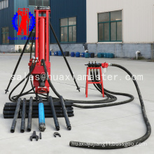 All - pneumatic downhole drill new high efficiency special promotion small slope rig open air trestle with low air pressure