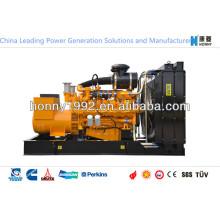 250kVA Doble Generadores de Combustible con Combustible Diesel, Gas Natural