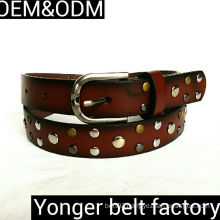 Fashionable PU Leather Jeans Belt, Customized Designs Are Accepted