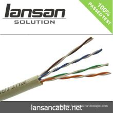 Lansan 4 paires rj45 cable cat5e utp cable 24awg BC meilleur prix et bonne qualité