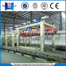Building Material Machinery Autoclaved aerated concrete block brick equipment