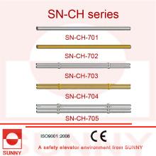 Pasamanos para cabina de ascensor con marco de acero inoxidable (SN-CH-701)