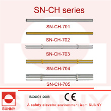 Поручень кабины лифта с рамкой из нержавеющей стали (SN-CH-701)