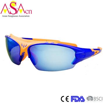 Herren Modeschöpfer UV400 Schutz PC Sport Sonnenbrille (14368)