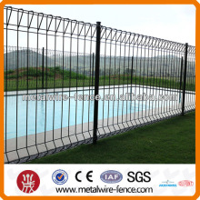 triangle curved welded top fence