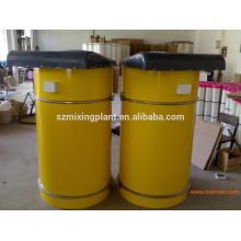 Hormigón planta de mezcla cemento silo recogedor de polvo para la venta, pequeña cubierta de polvo con bajo precio