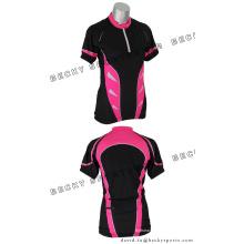 Полиэстер Велоспорт Top Джерси велосипед одежда для лета