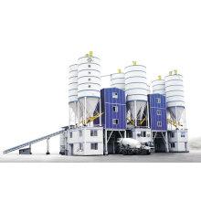 Usine de béton prêt à l'emploi, construction de routes, usine de béton