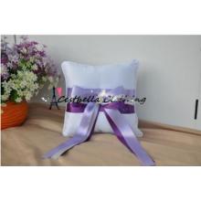 Super Elegant Beaded Wedding Ring Bearer Pillow for Bridal Flower Perals Rhinstone BlingBling Paillette Wedding Ring Pillow
