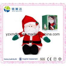 SGS batería musical Santa Claus juguete de Navidad para niños