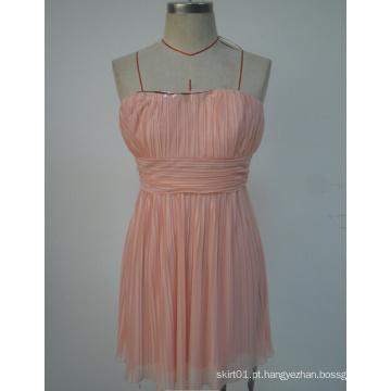 2015 Preço de fábrica Moda Moda Mulheres Vestuário Girl Slip Dress for Summer