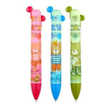 Full Color Printing 2 Color Cartoon Ball Pen
