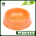 Green and healthy bamboo fiber dog bowl pass the test of FDA LFGB SGS RoHS dishwasher safe
