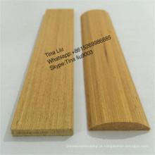 guarnição e moldagem de madeira de teca