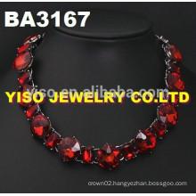 wedding rhinestone necklace