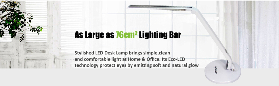 led sunlight desk lamp