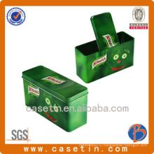 Оловянная банка для пищевой промышленности / Ящик для окантовки прямоугольника / ящик для печенья