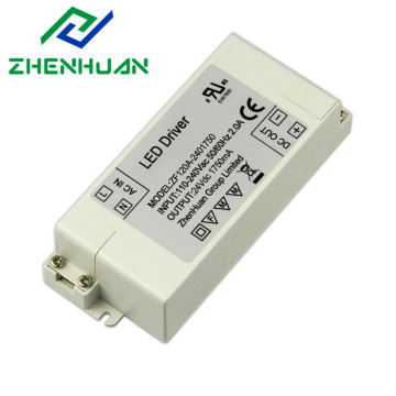 42W 24VDC 1.75A ZF120A-2401750 Драйвер светодиодной лампы