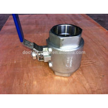 Fileté NPT Ball Valve 2000WOG