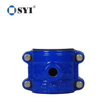 PVC pipe used tapping saddle Pipe or Tube Clamp