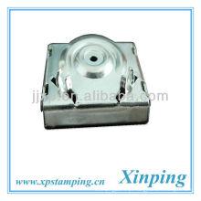 Suportes de niquelagem em aço metálico para termostato