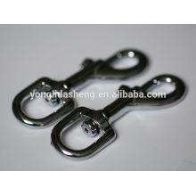 Produit de quincaillerie 2016 Nickel métal Snap Hook pour sac