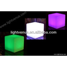 30 cm /multi color changing/reasonable price/factory direct sale waterproof rechargeable outdoor plastic stools